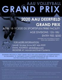 Image result for deerfield grand prix volleyball 2020